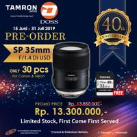 Tamron SP 35mm f/1.4 Di USD for CANON EF / NIKON F