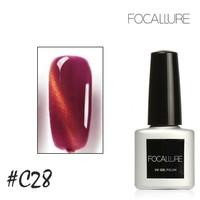 [ C28 ] FOCALLURE UV NAIL GEL - CAT EYES MAGNETIC NAIL GEL