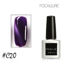 [ C20 ] FOCALLURE UV NAIL GEL - CAT EYES MAGNETIC NAIL GEL