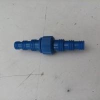 Sambungan selang plastik. nepel selang air