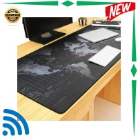 Harga kode flash sale gaming mouse pad xl desk mat motif peta dunia | antitipu.com