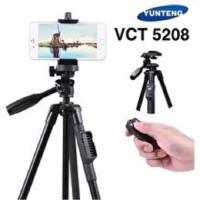 Tripod Yunteng Bluetooth Original Free Holder HP VCT-5208