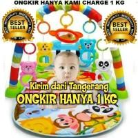 Baby Play Gym Mat | Mainan Piano Bayi | Karpet Musik Bayi |
