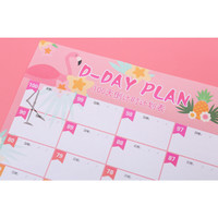 Planner 100 Hari FLamingo