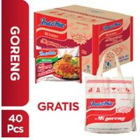 1 Dus isi 40 Pcs - Indomie Goreng Sambal Rica-rica + Free Tote bag