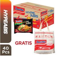 1 Dus 40 Pcs - Indomie HypeAbis Ayam Geprek + FREE Tote Bag