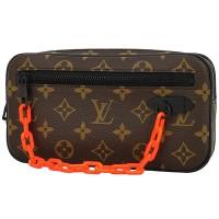 LOUIS VUITTON Virgil Abloh Pochette Volga Monogram Clutch Handbag