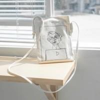 Magnetic Snap Cotton Canvas Eco Shoulder Cross Body Messenger Bag