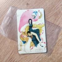Etoll eMoney Mandiri One Piece Luffy Boa Hancock Two Sided
