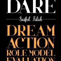 BUKU DARE (DREAM, ACTION, ROLE MODEL, EVALUATION) - SAIFUL FALAH