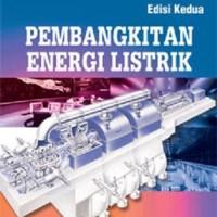BUKU PEMBANGKITAN ENERGI LISTRIK ED.2 - JITENG MARSUDI