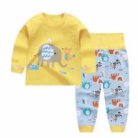 Kids Cotton Pajamas - Piyama Anak (YELLOW ZOO)