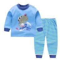 Kids Cotton Pajamas - Piyama Anak (SURFING DINO)