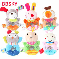 BBSKY Ring Rattle Bayi - Baby Hand Rattle - Rattle Donut