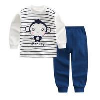 Kids Cotton Pajamas - Piyama Anak (MONKEY SMILE)