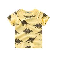 Kids Short Sleeve - Kids T Shirt - Kaos Oblong Pendek (DINOSAUR)