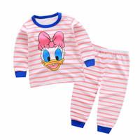 Kids Cotton Pajamas - Piyama Anak (DAISY DUCK)