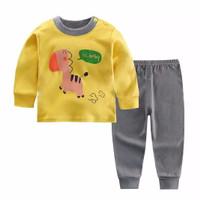 Kids Cotton Pajamas - Piyama Anak (BABY GIRAFFE)