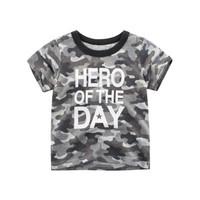 Kids Short Sleeve - Kids T Shirt - Kaos Oblong Pendek (HERO)