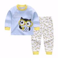 Kids Cotton Pajamas - Piyama Anak (OWL & BANANA)