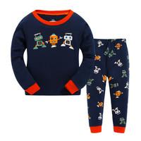Kids Cotton Pajamas - Piyama Anak (LITTLE ROBOT)