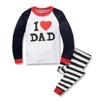 Kids Cotton Pajamas - Piyama Anak (LOVE DAD)