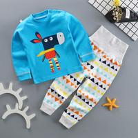 Kids Cotton Pajamas - Piyama Anak (BLUE DONKEY)