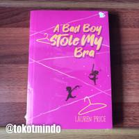 Novel A BAD BOY STOLE MY BRA (Lauren Price)