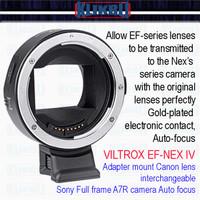 Mount Adapter,Adaptor lensa VILTROX EF-NEX IV Sony Mirrorless ke Canon