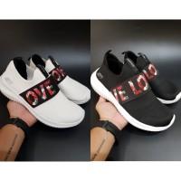 Sepatu Wanita Skechers/ Skecher/ Sketchers Ultra Flex Love First