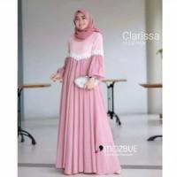 Baju Gamis Wanita Syari Maxi Clarissa Muslim Terbaru MURAH