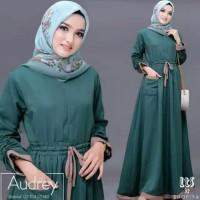Baju Gamis Wanita Syari Maxi Audrey Muslim Terbaru MURAH