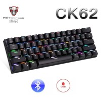 MOTOSPEED CK62 Bluetooth Wireless Mechanical Keyboard with RGB Backlig