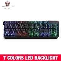 Original MotoSpeed K70 7-Color Colorful Backlight Computer Gaming Keyb