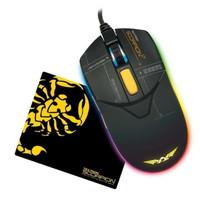 Mouse Gaming Armaggeddon Scorpion 7- 4800 CPi Free Mousematt