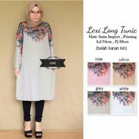 Lexi Long Tunic - Rose