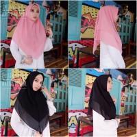 Murah Hijab Instan Khimar Layer Ceruti Baby Doll Jilbab Termurah