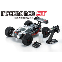 Rc Car Off road Kyosho INFERNO NEO ST SPEC 2.0 Silver 1/8 33002T1B
