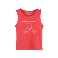 Official Merchandise London Taxi Balance Bike T-Shirt Sleveeless