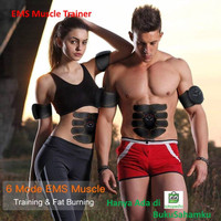 EMS Muscle Trainer - alat pelangsing muscle stimulator