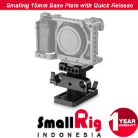 SmallRig 1687 Base Plate 15mm LWS System with Quick Release Clamp Arca