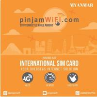 Sim Card Myanmar Unlimited FUP 3 GB for 8 Days  Simcard Myanmar