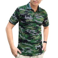 Kaos baju polo kemeja Army tentara loreng