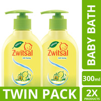 Zwitsal Baby Natural Rich Honney 300gr Twin Pack