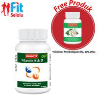 Vitamin A & D, kesehatan mata & penyerapan vitamin 30 Tablet