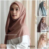 Hijab Segi Empat Polos Jilbab Bella Square polycotton segiempat Scarf
