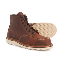 """Red Wing Heritage 1907 6"""" Moc-Toe Boots - Leather, Factory 2nds"""