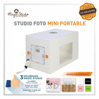 Lampu Studio Mini Photo Studio
