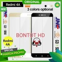 Baru Murah Tempered Glass 2.5D HQ Color Warna For Hp XIAOMI REDMI 4A