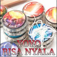 Yoyo Yo-Yo Bisa Nyala Ada Lampu Mainan Anak Yo Yo Gasing Jadul-OT039